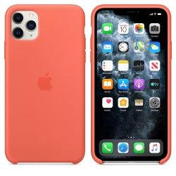 iPhone 11 Pro Max Πορτοκαλί Θήκη Σιλικόνης