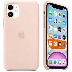 iPhone 11 Ματ Ροζ Θήκη Σιλικόνης