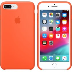 iPhone 7/8 Plus Πορτοκαλί Θήκη Σιλικόνης