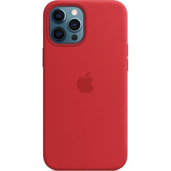 iPhone 12/12 Pro Κόκκινη Θήκη Σιλικόνης