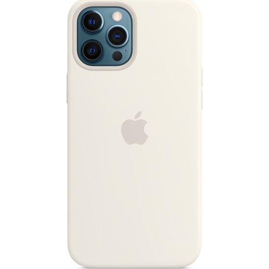 iPhone 12/12 Pro Λευκή Θήκη Σιλικόνης
