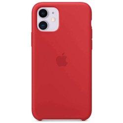 iPhone 11 Κόκκινη Θήκη Σιλικόνης