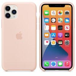 iPhone 11 Pro Max Ματ Ροζ Θήκη Σιλικόνης