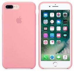 iPhone 7/8 Plus Ροζ Θήκη Σιλικόνης