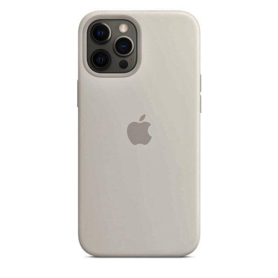 iPhone 12/12 Pro Stone Θήκη Σιλικόνης