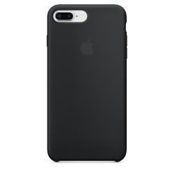 iPhone 7/8 Plus Μαύρη Θήκη Σιλικόνης