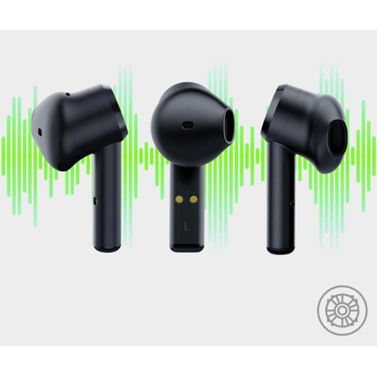 Razer True Wireless Earbuds Hamerhead Μαύρα