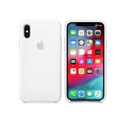 iPhone X/XS Λευκή Θήκη Σιλικόνης
