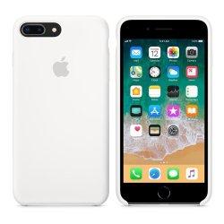 iPhone 7/8 Plus Λευκή Θήκη Σιλικόνης