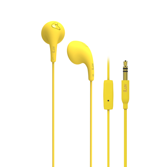 iLuv Handsfree Bubble Gum Κίτρινα
