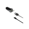 Celly Turbo Car Charger 2.4A Kit Usb Type-C Cable Μαύρο