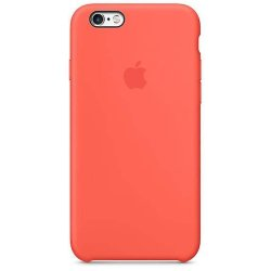 iPhone 6/6S Πορτοκαλί Θήκη Σιλικόνης