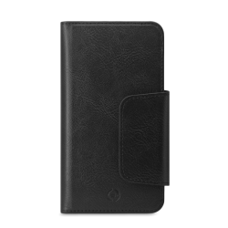Celly Duomo Wallet Case Up To 6.5 Μαύρη
