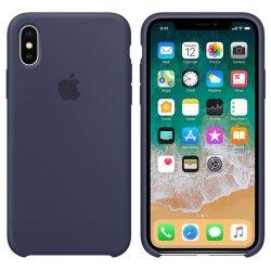 iPhone X/XS Μπλε Θήκη Σιλικόνης