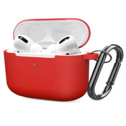 FoneFX Apple AirPods Pro Κόκκινη Θήκη Σιλικόνης