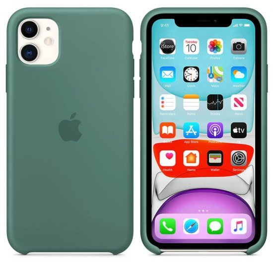 iPhone 12/12 Pro Λαδί Θήκη Σιλικόνης