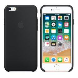 iPhone 6/6S Μαύρη Θήκη Σιλικόνης