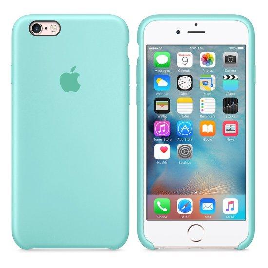 iPhone 6/6S Φιστικί Θήκη Σιλικόνης