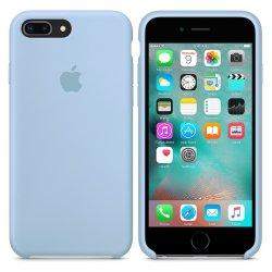 iPhone 7/8 Plus Γαλάζια Θήκη Σιλικόνης