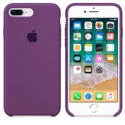 iPhone 7/8 Plus Μωβ Θήκη Σιλικόνης