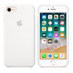 iPhone 7/8 Λευκή Θήκη Σιλικόνης