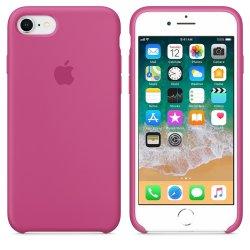 iPhone 7/8 Φούξια Θήκη Σιλικόνης
