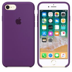 iPhone 7/8 Μωβ Θήκη Σιλικόνης