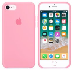 iPhone 7/8 Ροζ Θήκη Σιλικόνης