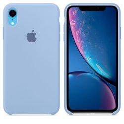 iPhone XR Γαλάζια Θήκη Σιλικόνης