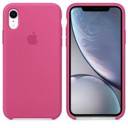 iPhone XR Φούξια Θήκη Σιλικόνης