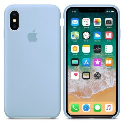 iPhone XS Max Γαλάζια Θήκη Σιλικόνης
