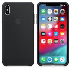 iPhone X/XS Μαύρη Θήκη Σιλικόνης