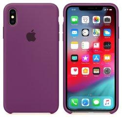 iPhone X/XS Μωβ Θήκη Σιλικόνης