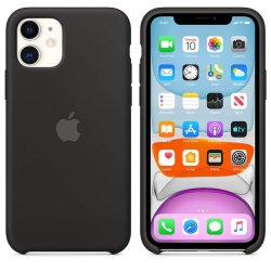 iPhone 11 Μαύρη Θήκη Σιλικόνης