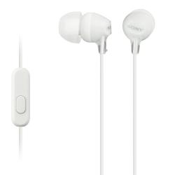 Sony Handsfree MDREX15AP Λευκά