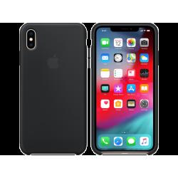 iPhone XS Max Μαύρη Θήκη Σιλικόνης