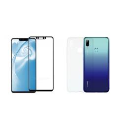 Vivid Set TPU + Tempered Glass Full Face Huawei P Smart 2019