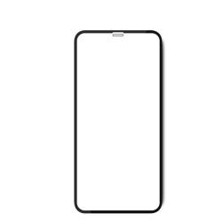 Vivid Full Face Tempered Glass iPhone XR/11 Μαύρο