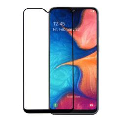 Vivid Full Face Tempered Glass Samsung Galaxy A20e Μαύρο