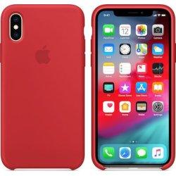 iPhone X/XS Κόκκινη Θήκη Σιλικόνης
