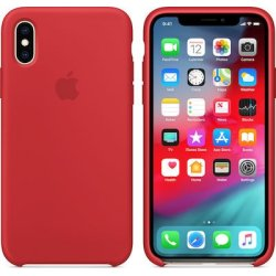 iPhone XS Max Κόκκινη Θήκη Σιλικόνης