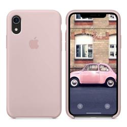 iPhone XR Ματ Ροζ Θήκη Σιλικόνης